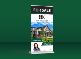 Roll-Up Banners - Harvey Kalles Real Estate
