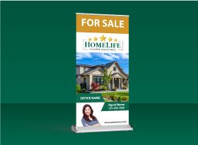 Roll-Up Banners - Homelife