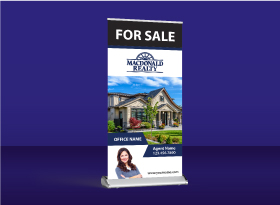 Roll-Up Banners - Macdonald Realty