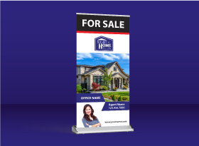 Roll-Up Banners - Right at Home