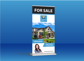 Roll-Up Banners - Relaxed Living Realty Inc.