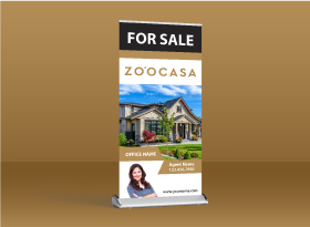 Roll-Up Banners - Zoocasa