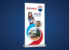 Roll-Up Banners - RE/MAX