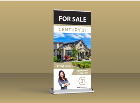 Roll-Up Banners - Century 21
