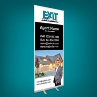 Roll-Up Banners - Exit Realty