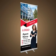 Roll-Up Banners - Independent Realtor