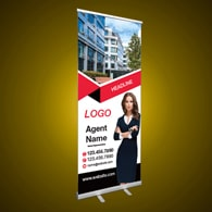 Roll-Up Banners - Main Street Realty