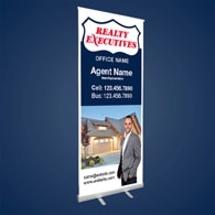 Roll-Up Banners - Realty Executives