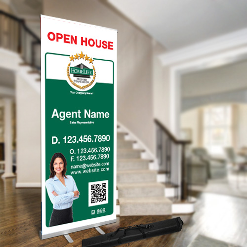 Roll-Up Banners<br><br> - Homelife