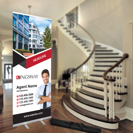Roll-Up Banners<br><br> - Kingsway