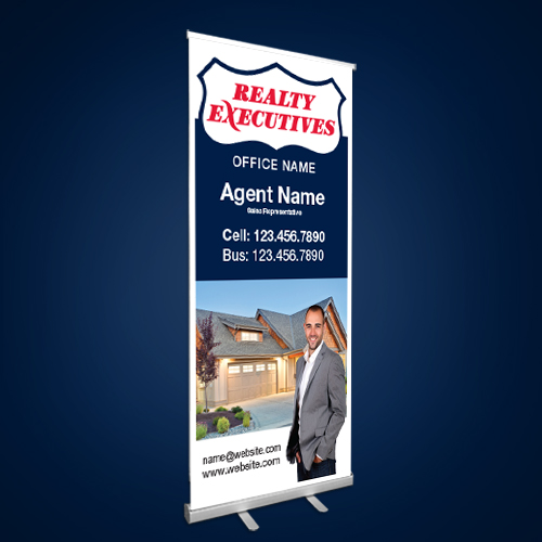 Roll-Up Banners<br><br> - Realty Executives