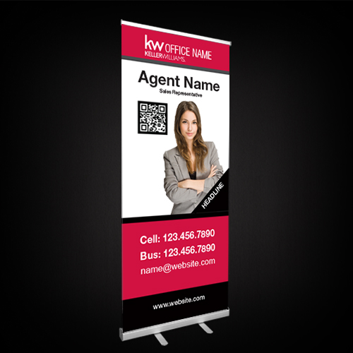 Roll-Up Banners<br><br> - Keller Williams