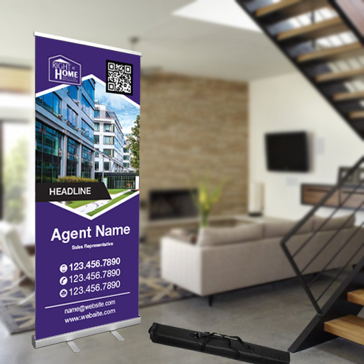 Roll-Up Banner<br><br> - Right At Home