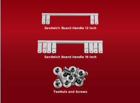 Sandwich Board Handles - Royal LePage
