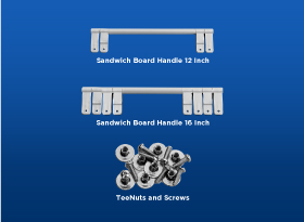 Sandwich Board Handles -Coldwell Banker