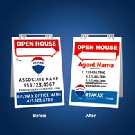 Sandwich Boards Reface and Repair - RE/MAX