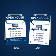 Sandwich Boards Reface and Repair - Coldwell Banker
