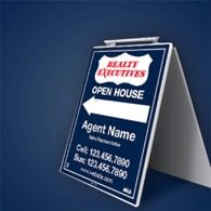 Sandwich Boards (Standard) - Realty Executives