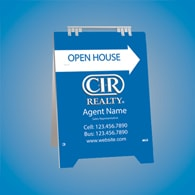 Sandwich Boards (With Feet) - CIR Realty