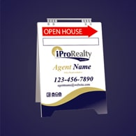 Sandwich Boards (With Feet) - iPro Realty