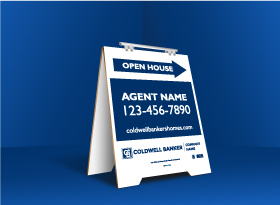 Sandwich Boards (With Feet) - Coldwell Banker
