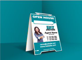 Sandwich Boards (With Feet) - Exit Realty