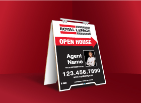 Sandwich Boards (With Feet) - Royal LePage