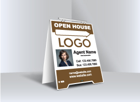 Sandwich Boards (With Feet) - Independent Realtor
