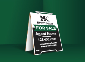 Sandwich Boards (With Feet) - Harvey Kalles Real Estate