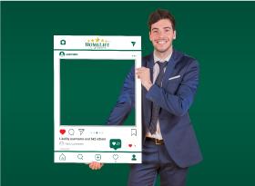 Homelife</br>Selfie Photo Booth Frames