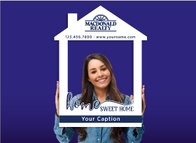 Macdonald Realty</br>House Photo Booth Frames