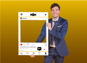 Main Street Realty</br>Selfie Photo Booth Frames