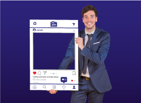 Right at Home</br>Selfie Photo Booth Frames