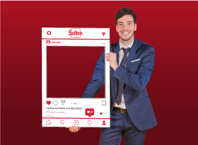 Sutton</br>Selfie Photo Booth Frames