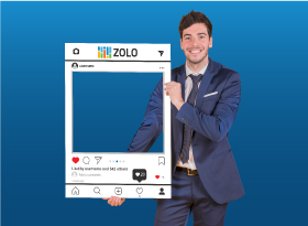 Zolo</br>Selfie Photo Booth Frames