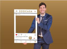 Zoocasa</br>Selfie Photo Booth Frames
