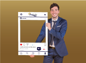 iPro Realty</br>Selfie Photo Booth Frames