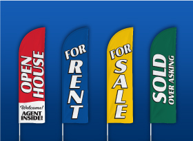 Coldwell Banker</br>Stock Feather Flags