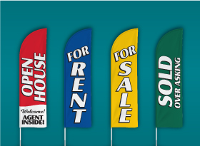 EXIT Realty</br>Stock Feather Flags