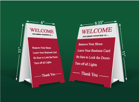 Table Top Signs - Harvey Kalles Real Estate