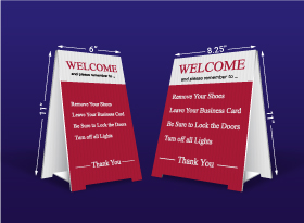 Table Top Signs - Macdonald Realty