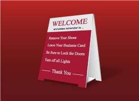 Table Top Signs - Soltanian