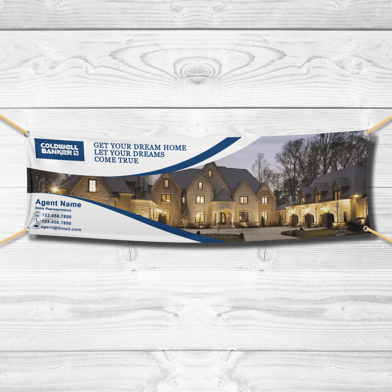 Vinyl Banners<br><br> - Coldwell Banker