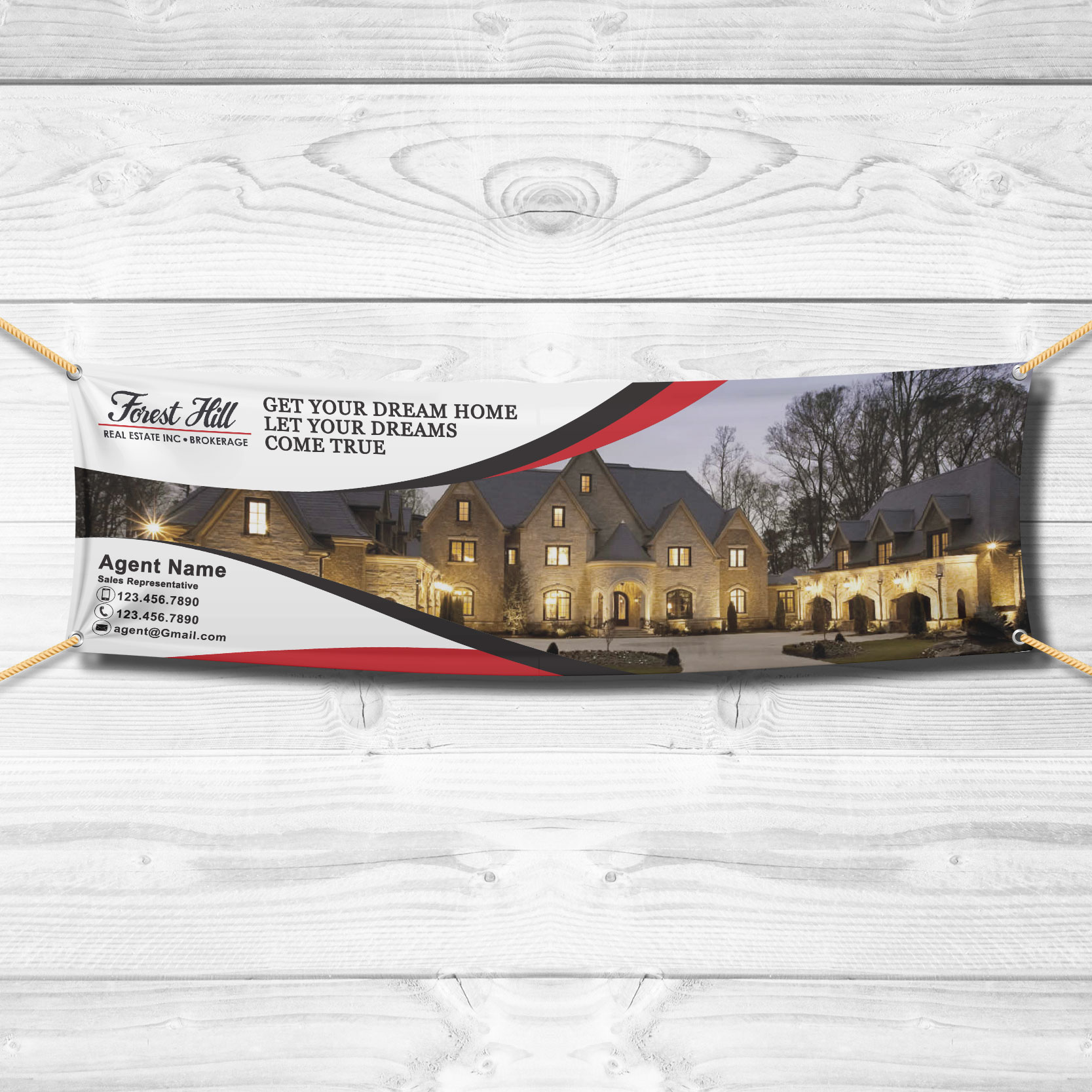 Vinyl Banners<br><br> - Forest Hill
