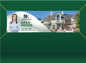 Vinyl Banners - Harvey Kalles Real Estate
