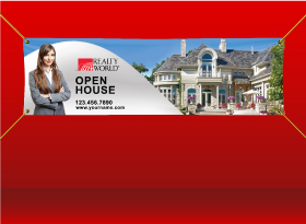 Vinyl Banners - Realty World