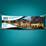 Vinyl Banners - Exit Realty