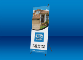 X-Frame Banners - CIR Realty