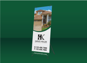 X-Frame Banners - Harvey Kalles Real Estate