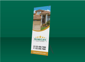 X-Frame Banners - Homelife